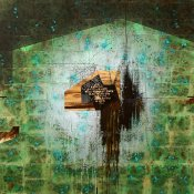 1201 - 1201160 X 160 CM, Mixed media on board